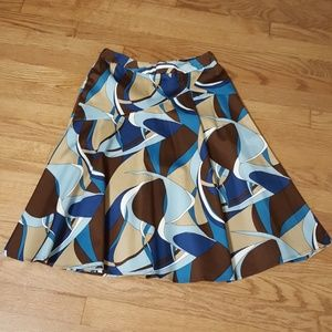 Sunny leigh multi colored skirt